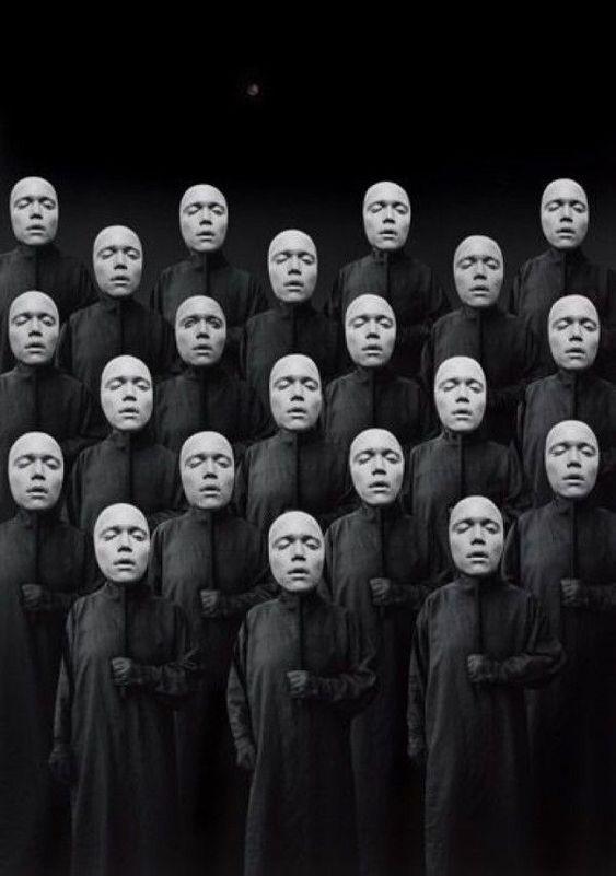 Botsende maskers